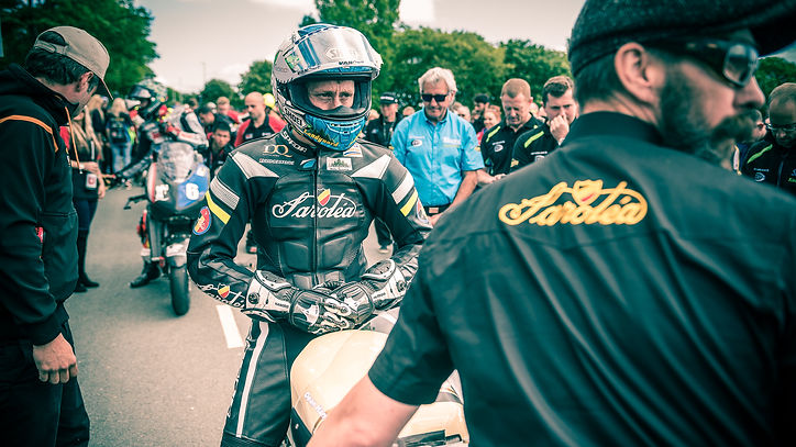 Dean HARRISON, Torsten ROBBENS & Lee Johnston | TT 2016