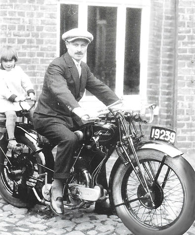 Saroléa type 25O 350cc in 1929