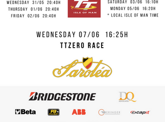 Isle of Man TT Zero schedule