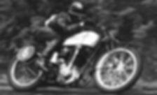 Gilbert De Rudder, alias Grizzly,on his Saroléa 350cc ACT in 1937 at Spa-Francorchamps