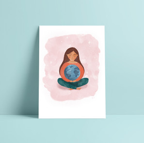 Everyday is Earth Day illustration