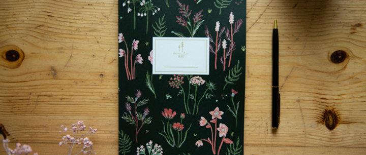 Notizheft Wildblumen