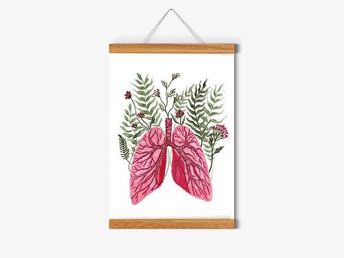 Print Botanical Breathe A4