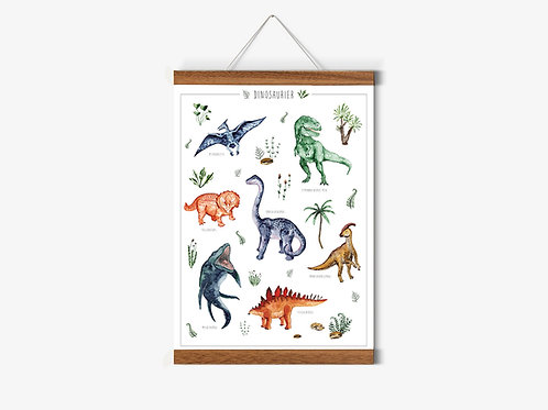 Dinosaurier Poster A2