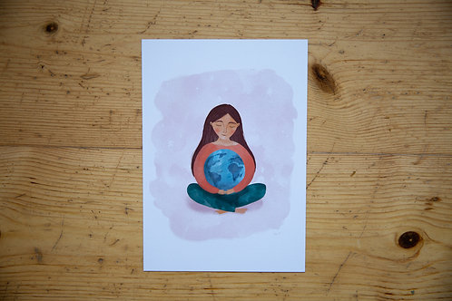 Print A5 Everyday is Earth Day