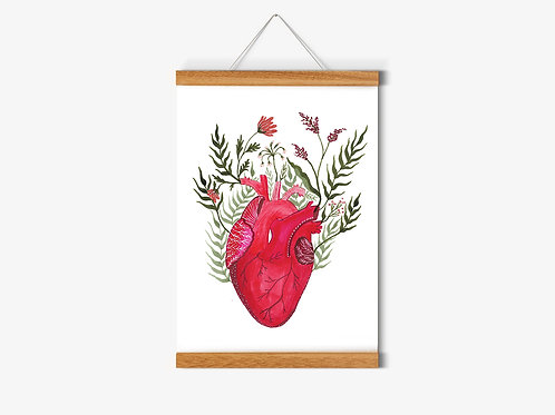 Print Botanical Love A4