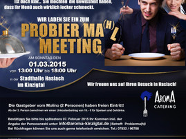Probier Ma(h)l Meeting