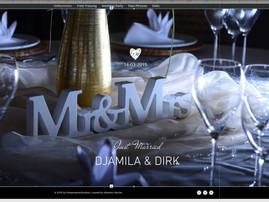 STATT FOTOALBUM DIE EIGENE WEDDING-PAGE