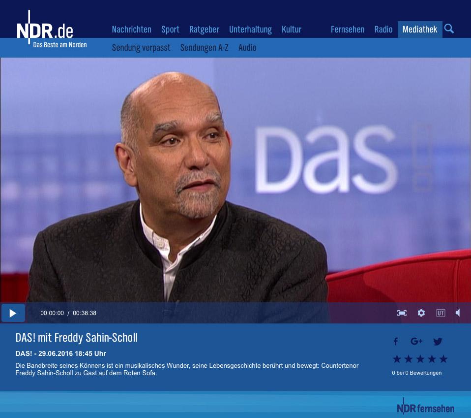 Freddy War Bei Das Auf Dem Roten Sofa Freddy Sahin Scholl