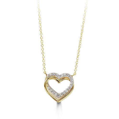 10kt Gold Forever Necklace 3039