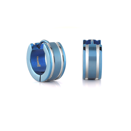 ITALGEM Two Stripe Earrings