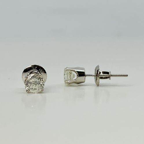 .80ctw Diamond Stud Earrings - Classic Collection