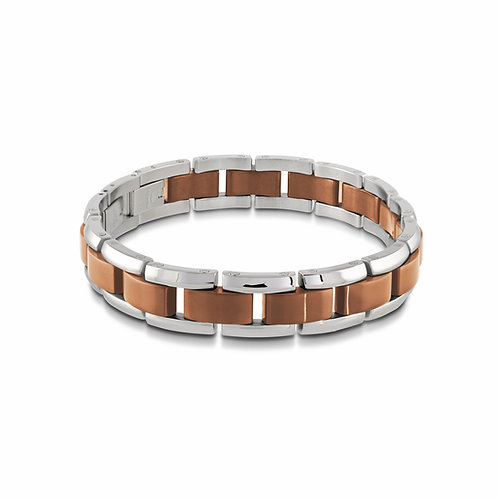 ITALGEM Dual Tone Bracelet
