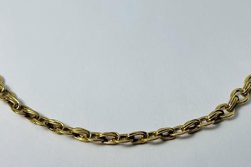 10kt Gold Fancy Charm Bracelet