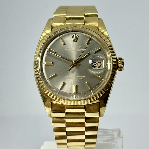 Rolex Datejust 1601 18k Yellow Gold Presidential