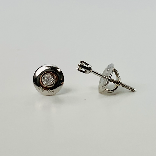 .04ctw Diamond Stud Earrings - Classic Collection