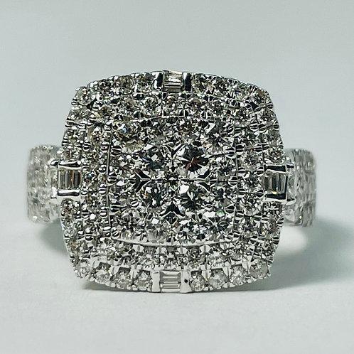 14kt White Gold Diamond Ring 1.50ctw