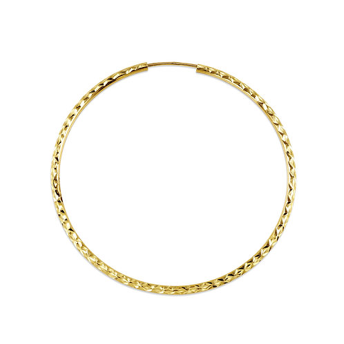10kt Gold Bella Dazzle Hoops