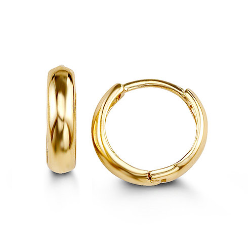14kt Gold Bella Huggies