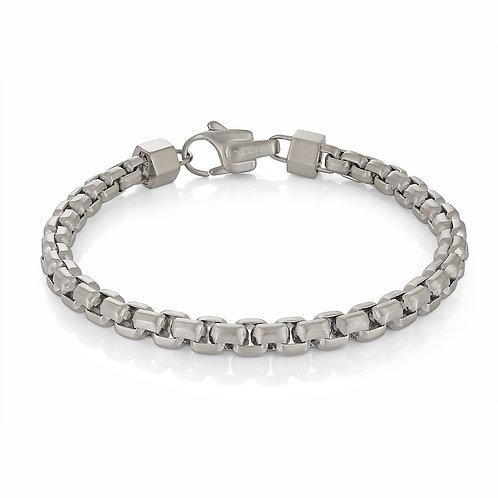 ITALGEM 6MM Round Box Bracelet