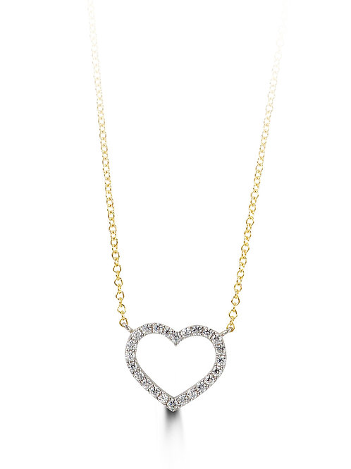 10kt Gold Forever Necklace 3040