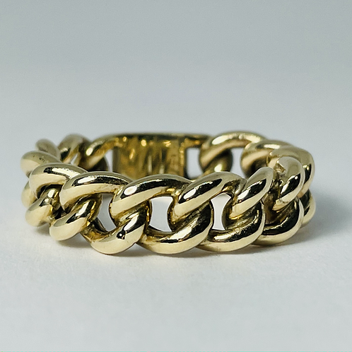 10kt Gold Miami Ring