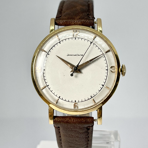 Jaeger-Le Coultre 18kt Gold Hand Wound Movement