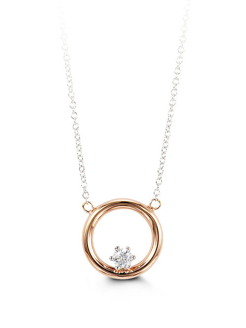 10kt Gold Forever Necklace 3034