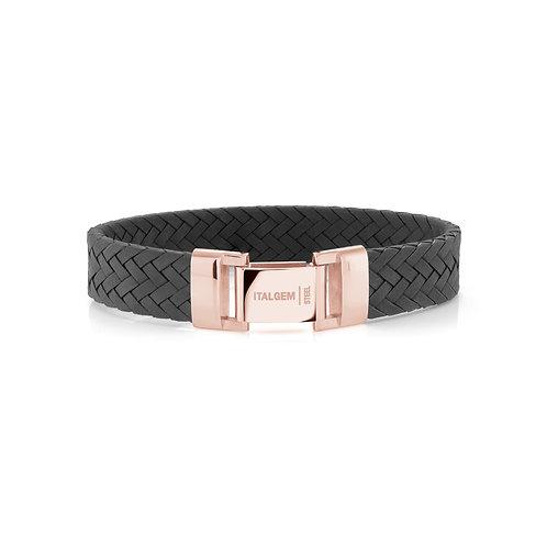 ITALGEM Fulton Leather Bracelet