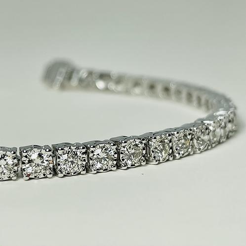 14kt White Gold 4.00ctw Diamond Tennis Bracelet