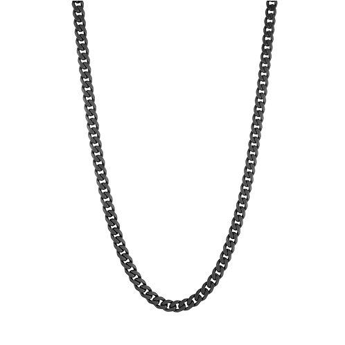 "ITALGEM 4.6MM Matte Polish Curb Chain 22"""