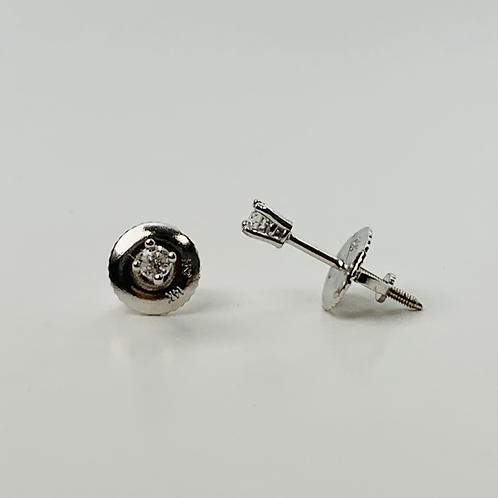 .06ctw Diamond Stud Earrings - Classic Collection