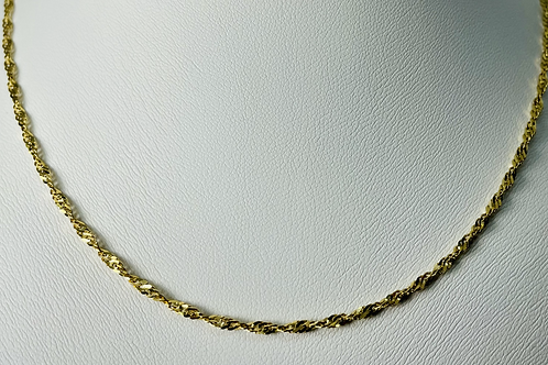 10kt Gold Singapore Chain