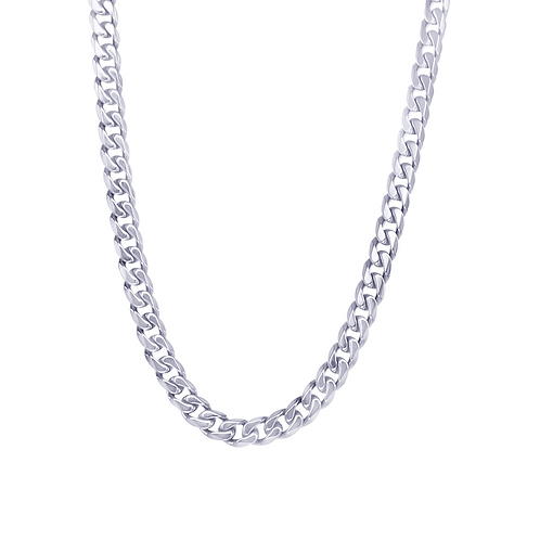 ITALGEM Stainless Steel 4.6mm Curb Chain