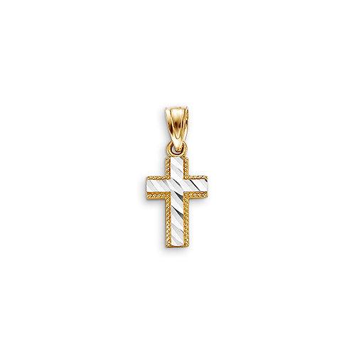10kt Gold Bella Faith Cross