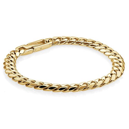 ITALGEM 7.7MM Curb Bracelet