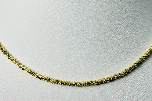 10kt Gold Moon Chain