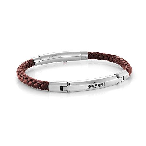 ITALGEM Johan Leather Bracelet