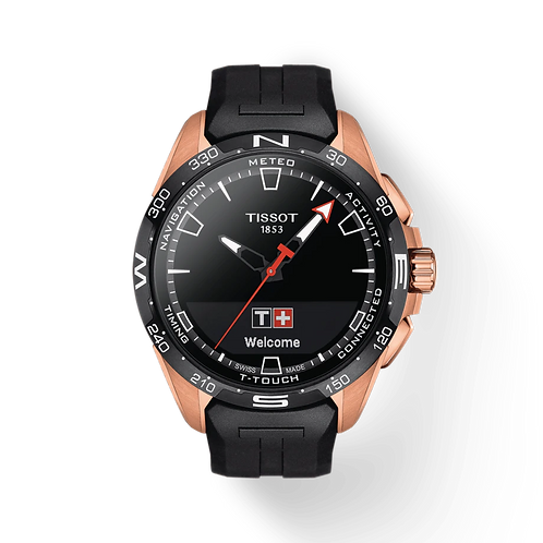 TISSOT T-TOUCH CONNECT SOLAR (Rose Gold PVD)