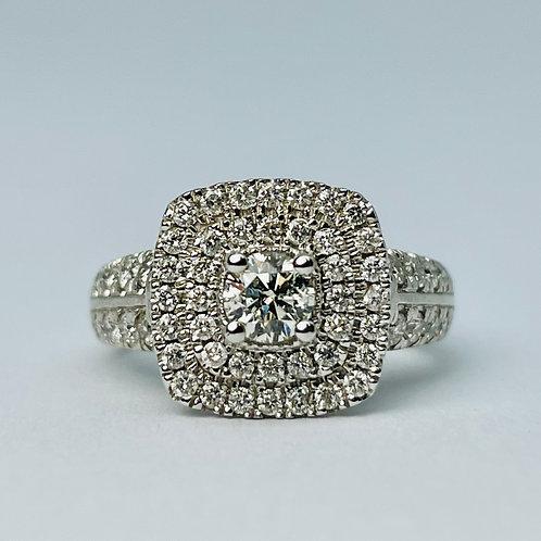 14kt White Gold 1.50ct Diamond Engagement Ring