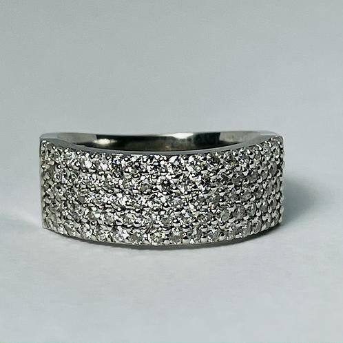14kt White Gold 1.00 carat Diamond Band