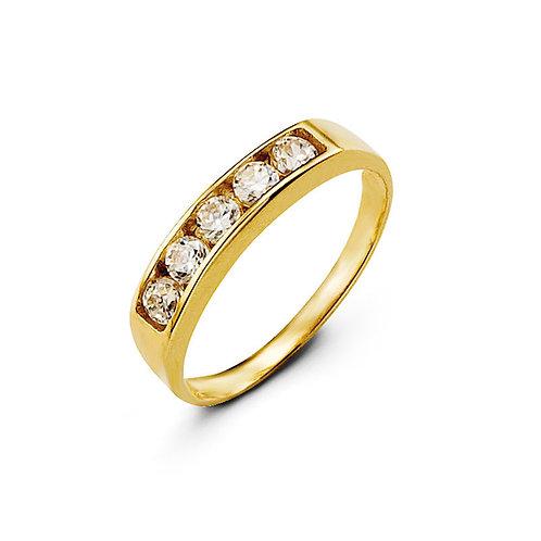 10kt Gold Baby Bella Ring