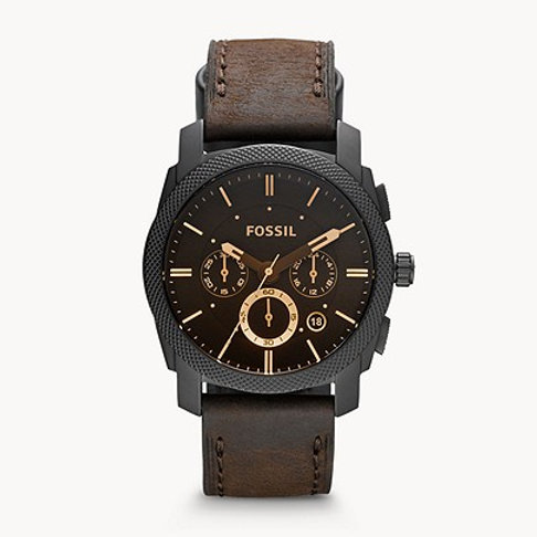 Fossil Machine Mid-Size Chronograph FS4656