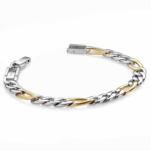 ITALGEM 9.5MM Figaro Bracelet