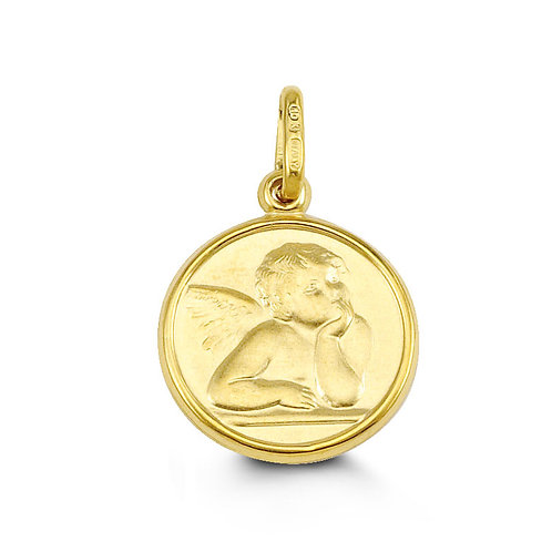 10kt Gold Bella Noah Guardian Angel Charm