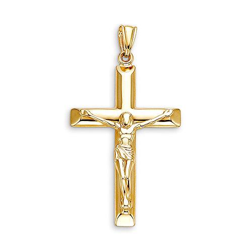 10kt Gold Bella Faith LargeCrucifix Cross