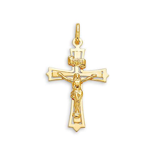 10kt Gold Bella Faith Crucifix Cross