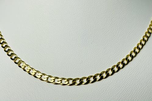 10kt Gold Curb Chain