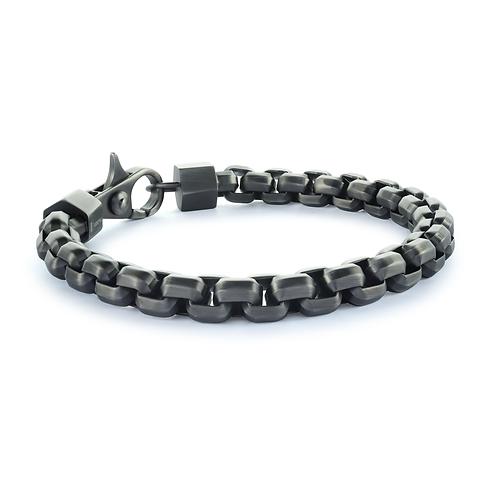 ITALGEM 8MM Round Box Bracelet