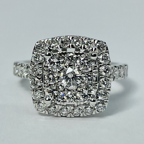 14kt White Gold Diamond Set 2.00ctw